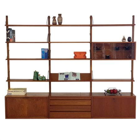 Royal System Wall Unit by Poul Cadovius for Cado, 1960s | Mid Century Design