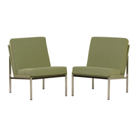 Set Gispen 1451 Easy Chairs by Coen DE VRIES, 1960s |Re-upholstered | Mid Century Design