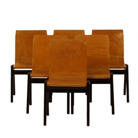 Beech Dining Chairs by Roland Rainer, 1956 – Set of 6 | Mid Century Design