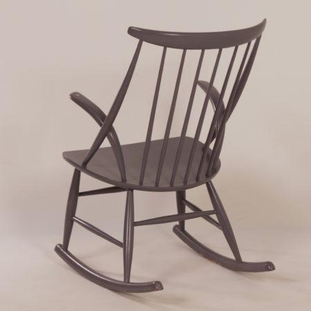 Rocking Chair IW3 by Illum Wikkelsø for Niels Eilersen, Denmark 1950s