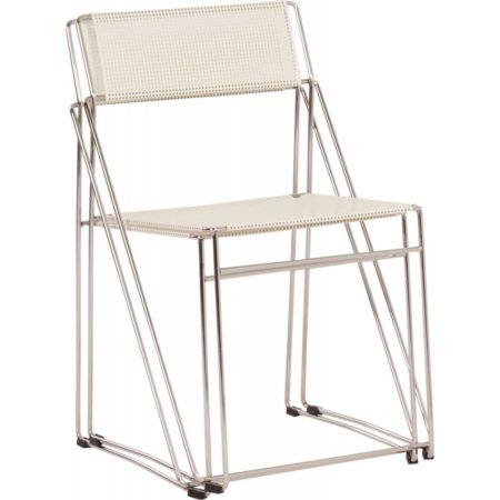 Nuova X-line Chairs by Niels Jørgen Haugesen for Hybodan, 1970s | Mid Century Design