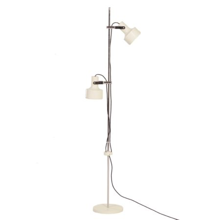 Anvia Floor Lamp with 2 White Spots by J. Hoogervorst for Anvia, 1960s | Mid Century Design