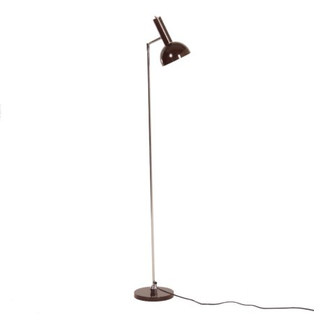 Vintage Floor Lamp by H. Busquet for Hala, ca 1960 | Mid Century Design