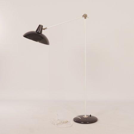 Dark Grey Floor Lamp by Hoogervorst for Anvia, 1960s.