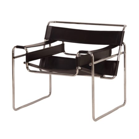 Retro Wassily Armchair by Marcel Breuer, 1980s
