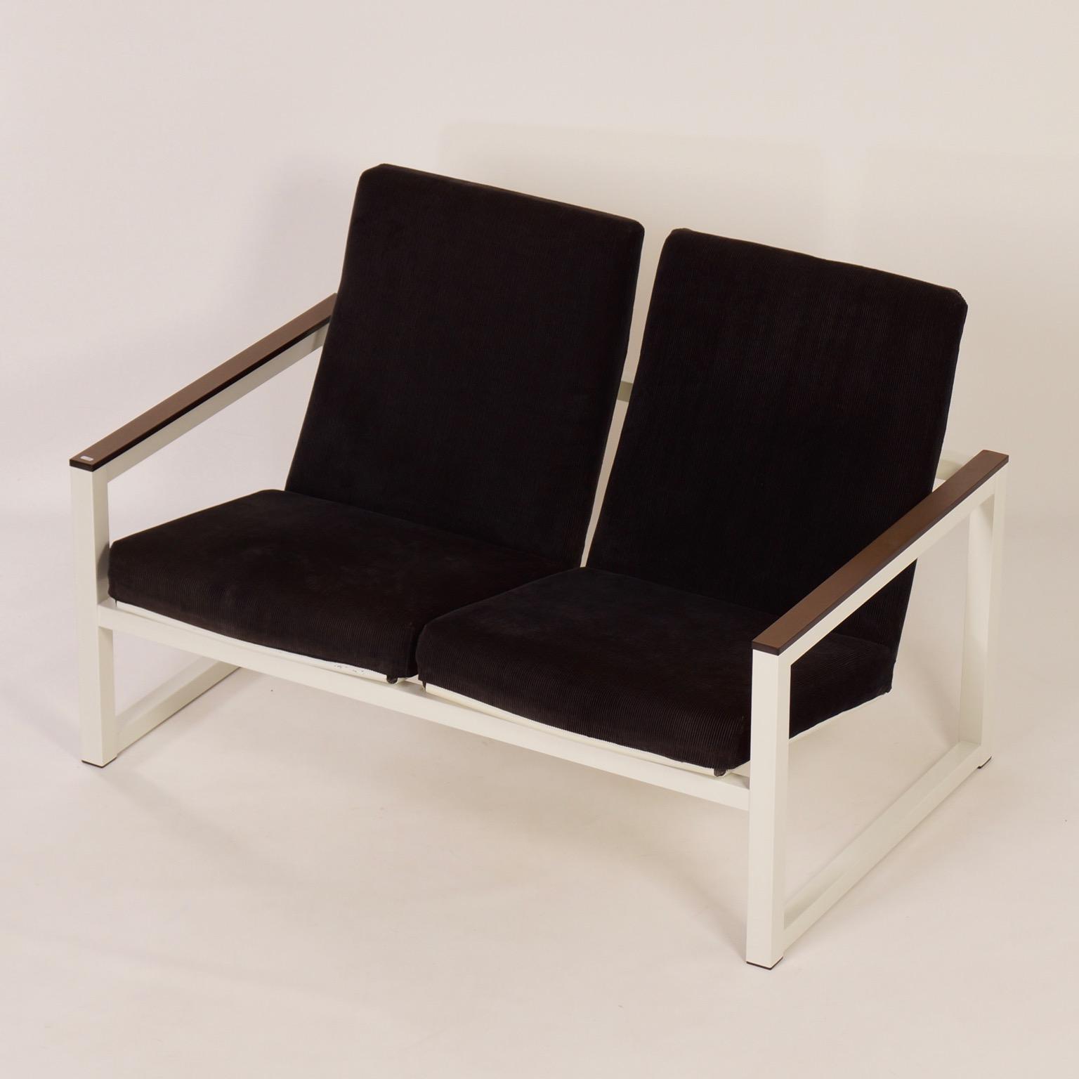 Miraculous Rare 2 Seater Sofa By Tjerk Reijenga And Friso Kramer For Pilastro 1960S Uwap Interior Chair Design Uwaporg