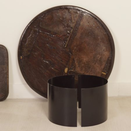 Set Brown Coffee Table's by Paul Kingma, 1989/90