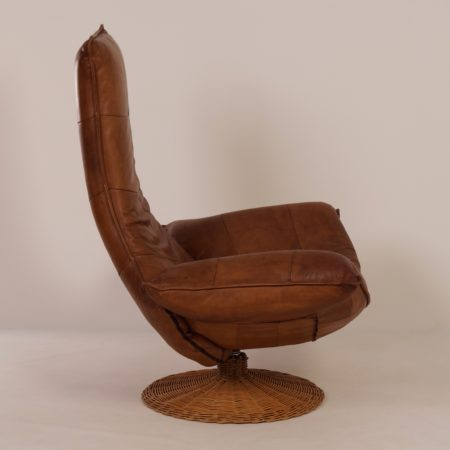 Wammes Lounge Chair by Gerard van den Berg for Montis, 1970s