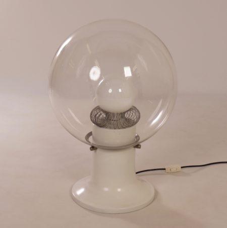 Glass Design Table Lamp, 1970s