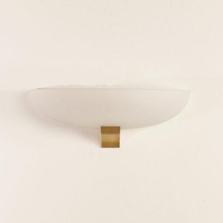Art Deco Wall Lamp by Jean Perzel, 1930s | Sand-Blasted Glas