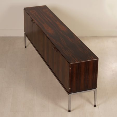 Big Rosewood Sideboard from The Netherlands, 1970s
