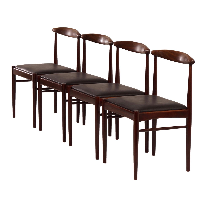 Fantastic Teak Dining Chairs 1960S Set Of 4 Inzonedesignstudio Interior Chair Design Inzonedesignstudiocom