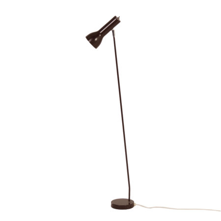 Brown Floor Lamp Model 645 by Hala, 1970s | Mid Century Design