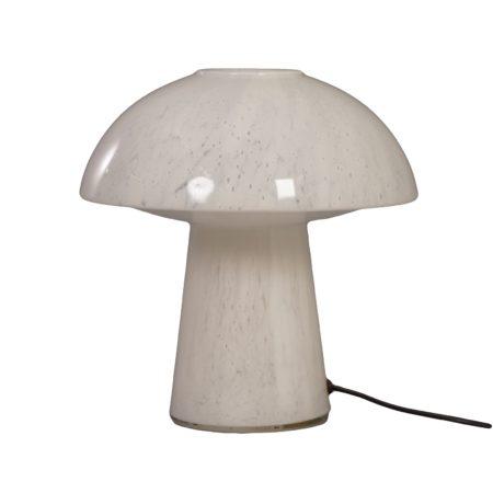 Mushroom Lamp of Opal Glass for Glashütte Limburg Leuchten, 1970s.