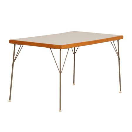 Dining Table model 531 by Wim Rietveld and André Cordemeyer for Gispen, 1950s | Mid Century Design