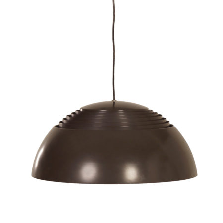Brown AJ Hanging Lamp by Arne Jacobsen for Louis Poulsen, 1970s | Mid Century Design