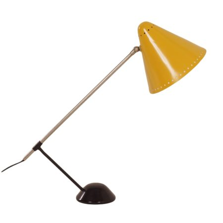 Yellow Tabel Lamp by Floris Fiedeldij for Artimeta in ca. 1956 | Mid Century Design