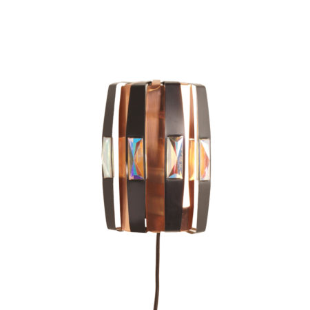 Danish Wall Light by Werner Schou for Coronell Elektro, 1970