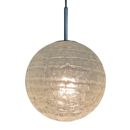 Glass Globe Pendant by Doria Leuchten, 1970s | Mid Century Design
