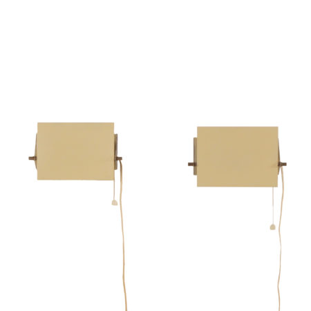 Set Wall Sconces by J.J.M. Hoogervorst for Anvia, 1960s. | Mid Century Design