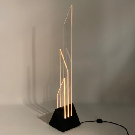 "Floor Lamp  ""Xenon"" by Franco Berg for Berg Licht + Object, 1980s"