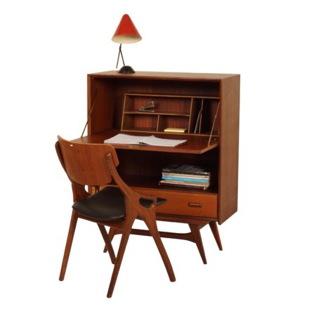 Secretaire by Louis van Teeffelen for Wébé, 1960 | Mid Century Design