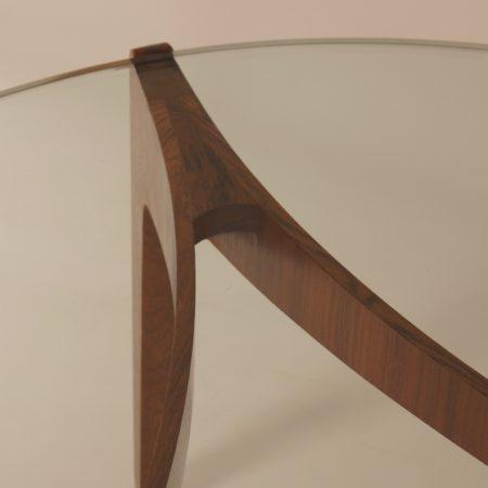 Rosewood Coffee Table by Sven Ellekaer for Christian Linneberg Mobelfabrik, 1960s