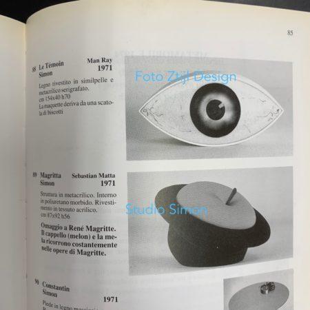 LE TEMOIN, Man Ray's Seat Sculpture for Studio Simon Gavina, 1971.