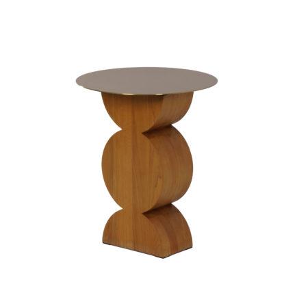 Constantin Side Table by Dino Gavina for Simon, 2000s | Mid Century Design