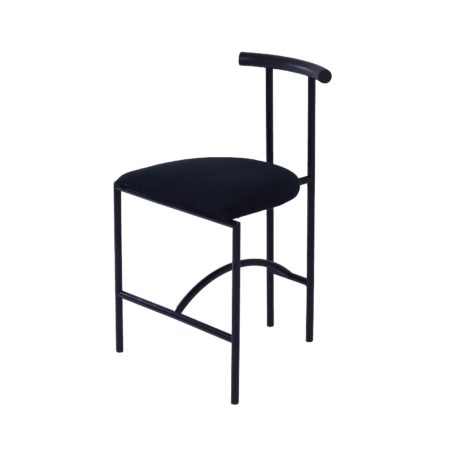 Tokyo Dining Chair by Rodney Kinsman for Bieffeplast, 1980s – Black Fabric | Mid Century Design
