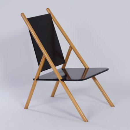 Pinna Chair by Yrjo Wiherheimo and Rudi Merz for Korkeakosko OY, 1970s.