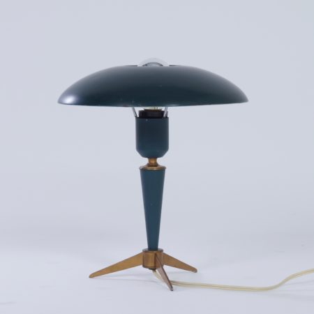 "Tripod Table Lamp ""Bijou"" by Louis Kalff for Philips, 1950s"
