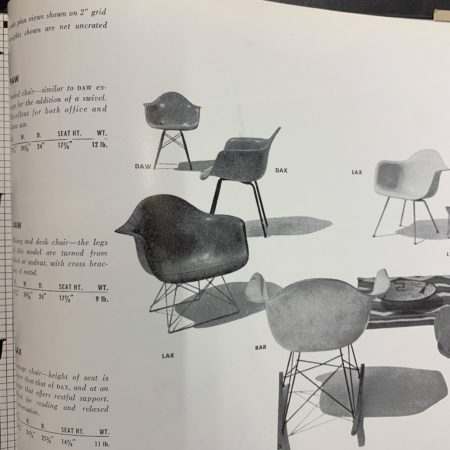 Black DAX Armchair by Charles & Ray Eames for Herman Miller, Fehlbaum, 1970s