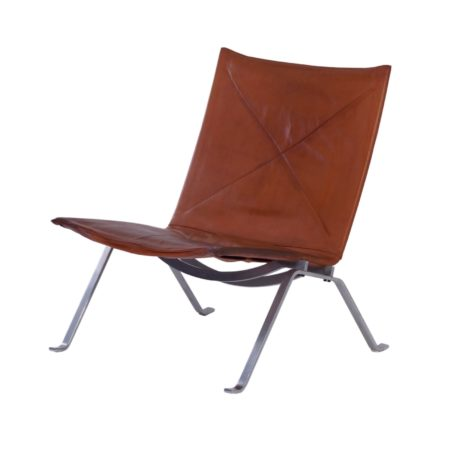 PK22 Lounge Chair by Poul Kjaerholm for E Kold Christensen, 1970s | Mid Century Design