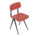 Rose Red Result Chair by Kramer and Rietveld for Ahrend, 1958 | Mid Century Design