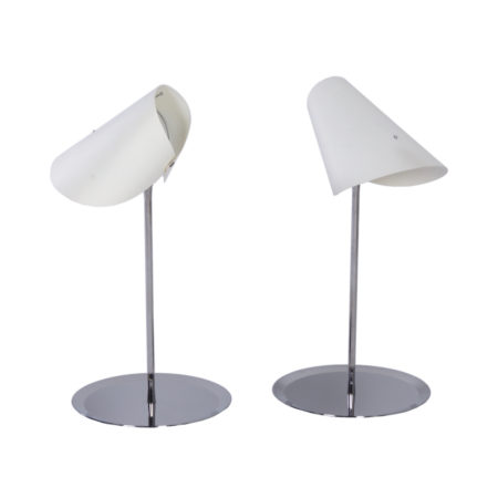 Reu Ferou Table Lamps by Man Ray, Edition, Dino Gavina, 2000s – Set of Two | Mid Century Design