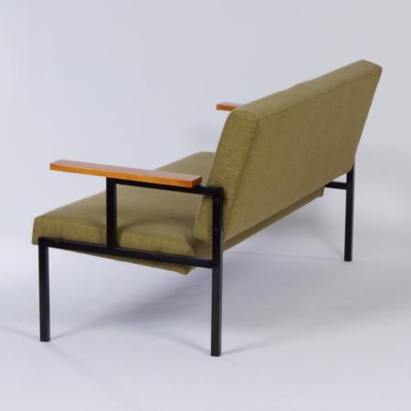 Green Sofa by Gijs van der Sluis, 1960s – Reupholstered