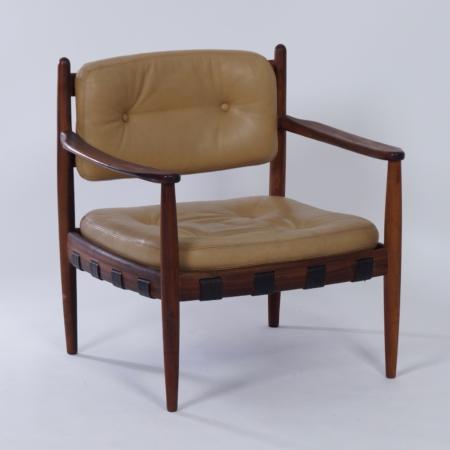 Cadett Armchair by Eric Merthen for Ire Möbel, Sweden, 1960s.