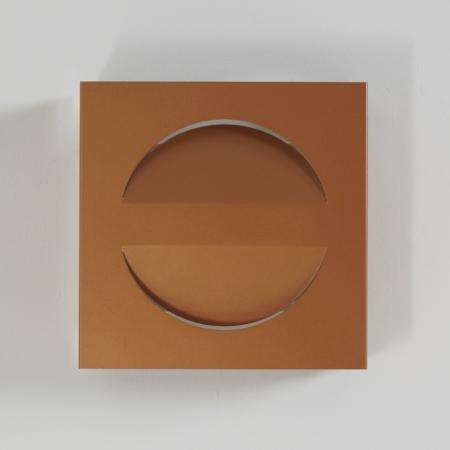Set Raak Signaal Wall Lamps Copper Colored, 1970s
