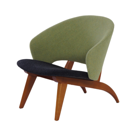 Organic Easy Chair by Theo Ruth for Artifort, 1950s – New Upholstery | Mid Century Design