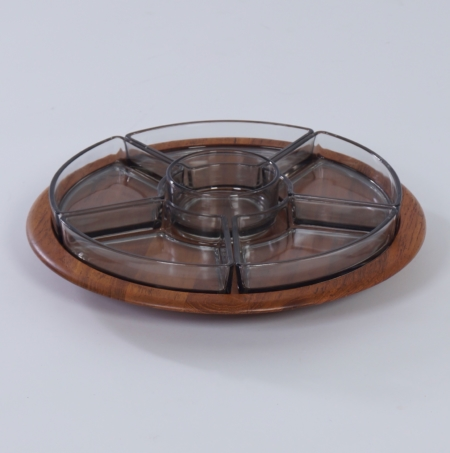 Lazy Susan Serving Tray by Digsmed,  Denmark 1960s