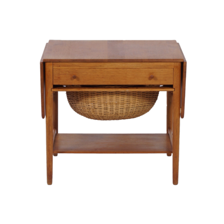 Sewing table AT33 by Hans Wegner for Andreas Tuck, 1950s | Mid Century Design