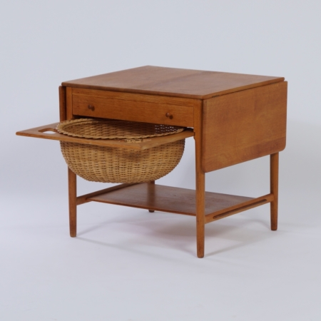 Sewing table AT33 by Hans Wegner for Andreas Tuck, 1950s