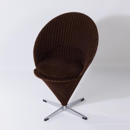 Danish Cone Chair K1 by Verner Panton, 1960s