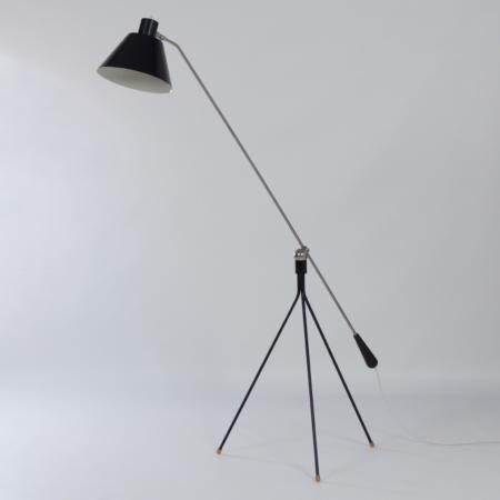 Magneto Floor Lamp by H. Fillekes for Artiforte, 1950s – Rare 1st Edition