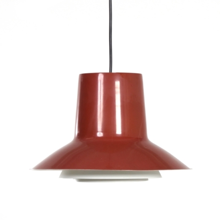 Danish Auditorie 2 Hanging Lamp by Svend Middelboe for Nordisk Solar, 1960s | Mid Century Design