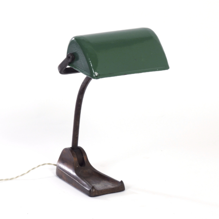 Bauhaus Bankers Desk Lamp by Horax, 1930s | Mid Century Design