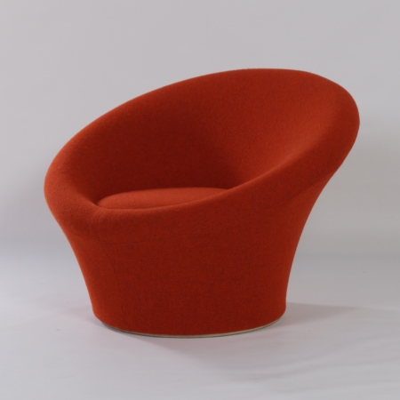 Mushroom Arm Chair with Ottoman (650/561) by Pierre Paulin for Artifort, 1960s