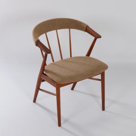 Danish Armchair by Helge Sibast for Sibast, Denmark, 1950s – Reupholstered