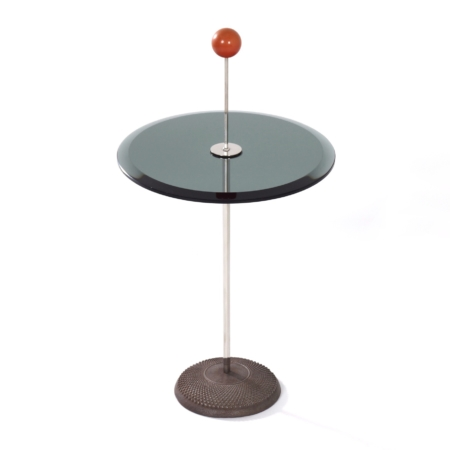 Orio Side table by Pierluigi Cerri for Fontana Arte, 1980s | Mid Century Design